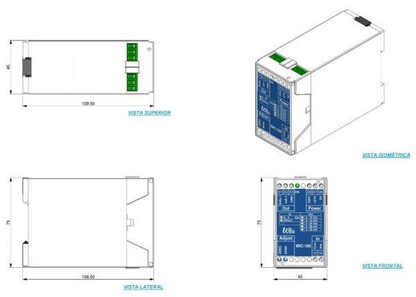 Conversor-Sinal-AC-DC-WIC-100-4