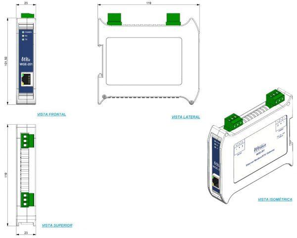Gateway-Ethernet-Modbus-WGE-201-4