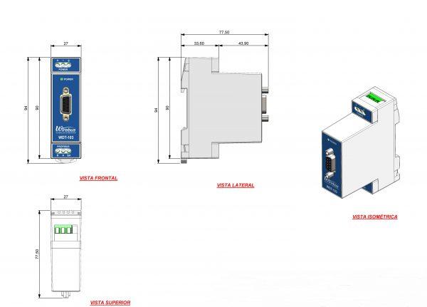 Terminador-Ativo-ProfibusDP-WDT-103-4