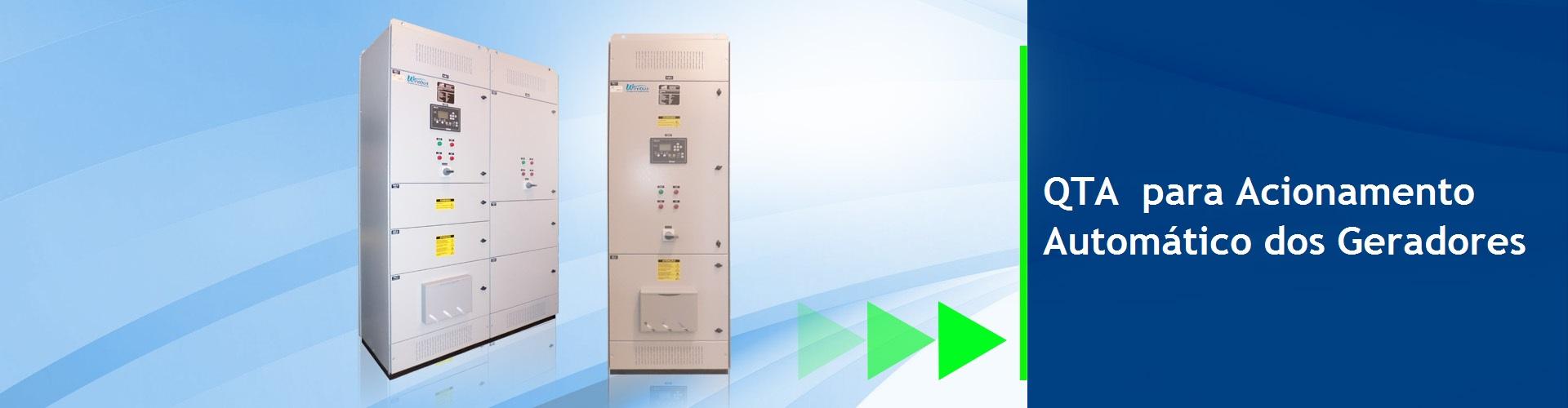 QTA- Quadro de Transferência Automatica