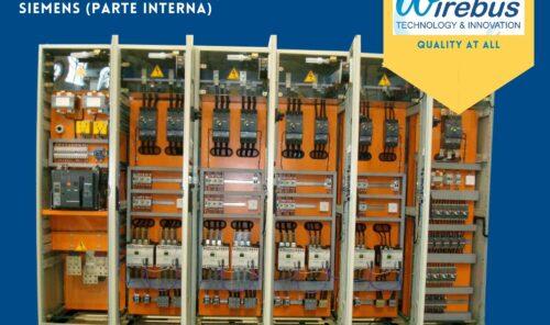 Centro de Comando de motores forma 1 - parte interna -Wirebus