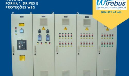 Centro de Controle de Motores - CCM WEG - Feito pela Wirebus