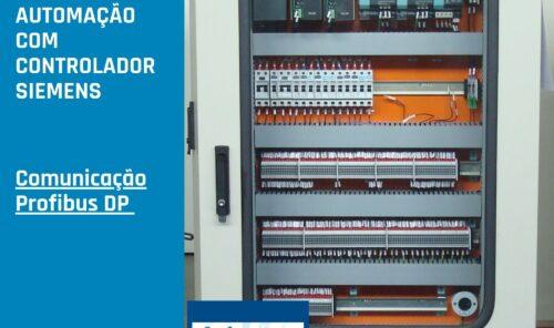 Painel de Automação com CLP Siemens