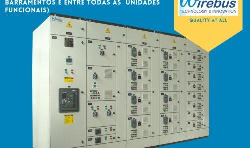 CCM - Centro de Controle de Motores 3B, gavetas fixas Wirebus