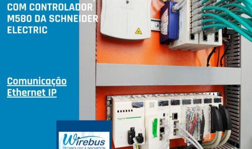 Painel de Automação com Controlador Schneider Electric