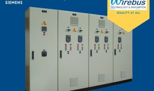CCM - Centro e Controle de Motores Siemens- Feito pela Wirebus