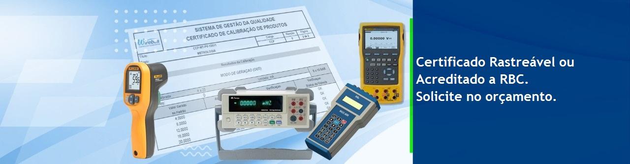 Calibração de Instrumentos e Equipamentos